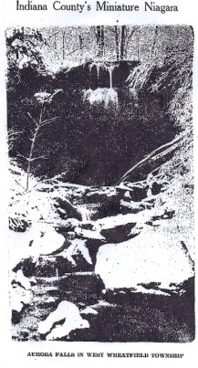 Buttermilk Falls was once called Aurora Falls, no one knows quite when it changed!