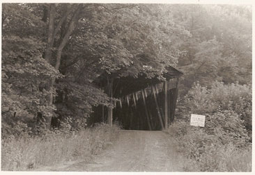 The Kintersburg Bridge circa 1969