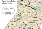 Historic Covered Bridges Map