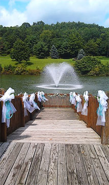 Indiana County parks are a beautiful location for your wedding!